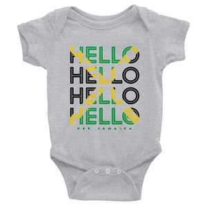 Hello Jamaica Baby Onesie - Kes Official Online Store