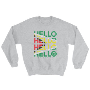 Hello Guyana Unisex Sweater - Kes Official Online Store