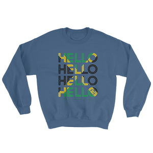 Hello Jamaica Unisex Sweater - Kes Official Online Store