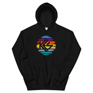 Sunset Kes Logo Unisex Pullover Hoodie - Kes Official Online Store