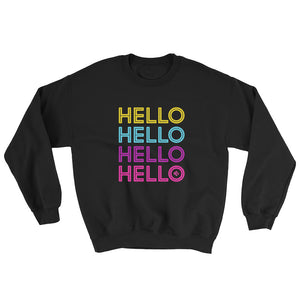 Hello Neon Unisex Sweater - Kes Official Online Store