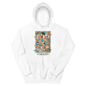 Tuesday on the Rocks, The Rhythm of Life Unisex Pullover Hoodie - Kes Official Online Store