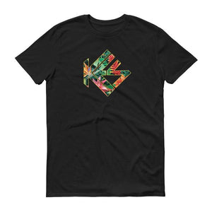 Tropical Kes Logo Mens T-Shirt - Kes Official Online Store