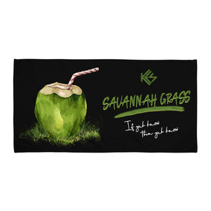 Savannah Grass Beach Towel - Kes Official Online Store