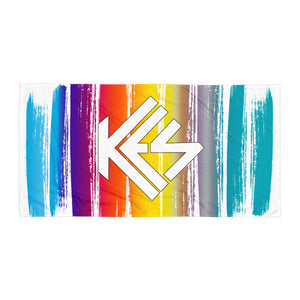 Sunset Kes Logo Beach Towel - Kes Official Online Store