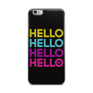 Hello Neon iPhone Case - Kes Official Online Store