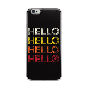 Hello Soca iPhone Case - Kes Official Online Store