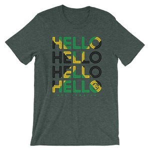 Hello Jamaica Mens T-Shirt - Kes Official Online Store