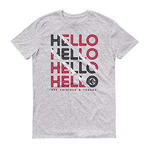 Hello Trinidad and Tobago Mens T-Shirt - Kes Official Online Store