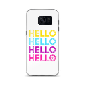 Hello Neon Samsung Phone Case - Kes Official Online Store