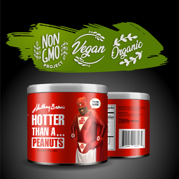 """Hotter Than A Mofo"" Nuts (Pre-Order Only)"