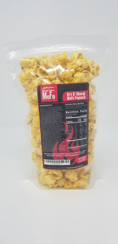 """HOT & CHEESY"" MOFO POPCORN"