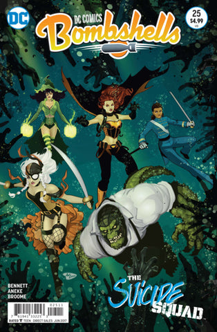 DC Bombshells Comic - Issue 25