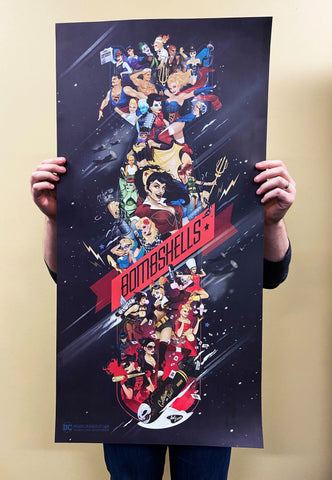 1 DC Bombshells Celebration Poster 18x36