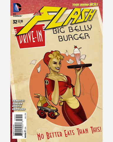 DC Bombshells Variant - The Flash 32