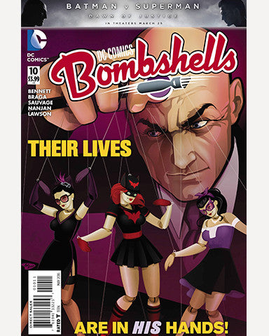 DC Bombshells Comic - Issue 10