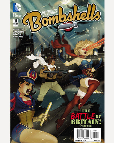 DC Bombshells Comic - Issue 11