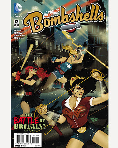 DC Bombshells Comic - Issue 12