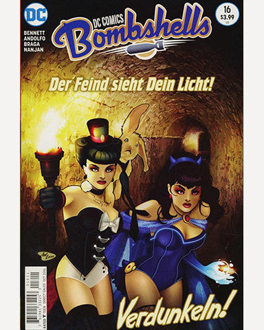 DC Bombshells Comic - Issue 16