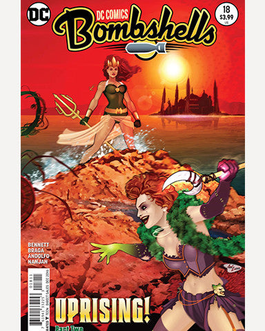 DC Bombshells Comic - Issue 18