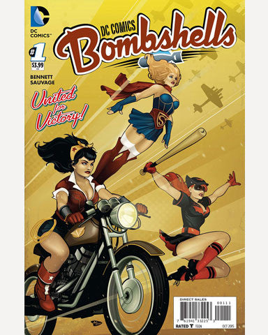 DC Bombshells Comic - Issue 01