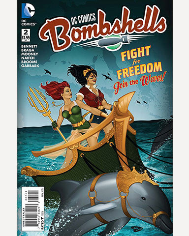 DC Bombshells Comic - Issue 02