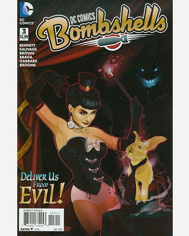 DC Bombshells Comic - Issue 03