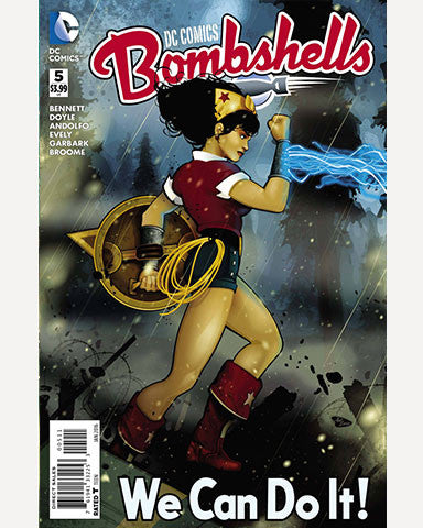 DC Bombshells Comic - Issue 05