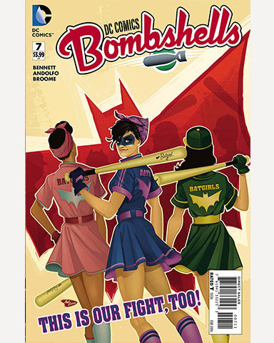 DC Bombshells Comic - Issue 07