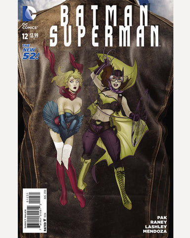 DC Bombshells Variant - Batman/Superman 12
