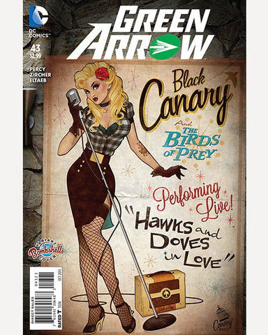 DC Bombshells Variant - Green Arrow 43