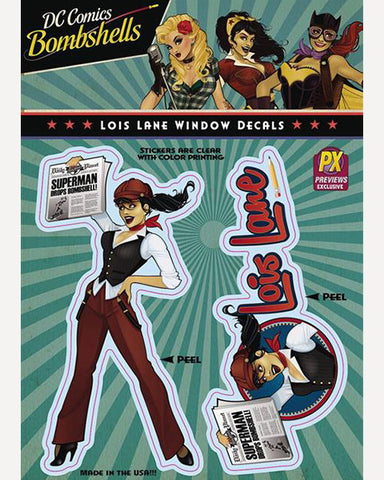 DC Bombshells Decal - Lois Lane