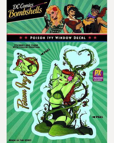 DC Bombshells Decal - Poison Ivy