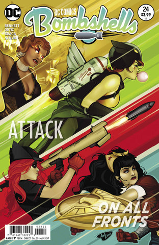 DC Bombshells Comic - Issue 24