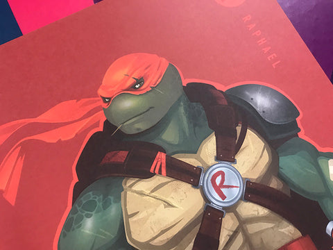 "12x18 Part 4 TMNT Raph ""Turtles"""