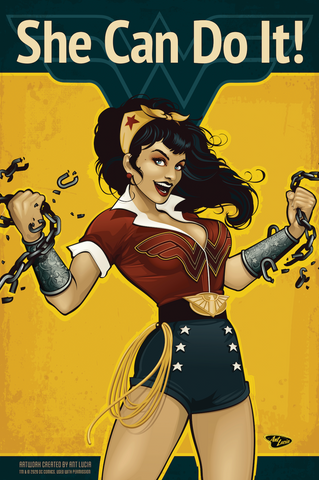 12x18 DC Bombshells Wonder Woman