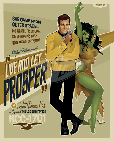 "16x20 NCC-1701 ""Live and Let Prosper"""