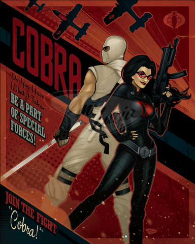 16x20 Join the Fight: COBRA