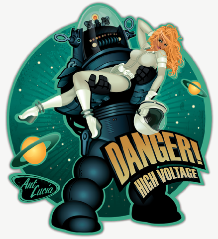 Stickers: Danger! High Voltage