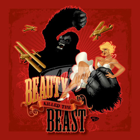 Spookshow Pinups Series: Beauty Killed the Beast