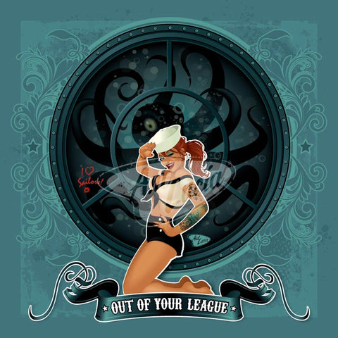 Spookshow Pinups Series: Out of Your League