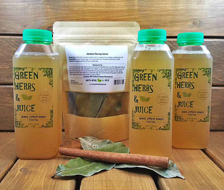 Herbal Soursop Ginger TeaTox Kit(3)