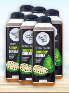 Herbal Soursop Ginger TeaTox ( 6 MEAL)