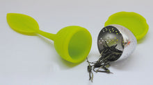 Load image into Gallery viewer, Green Leaf Tea Strainer