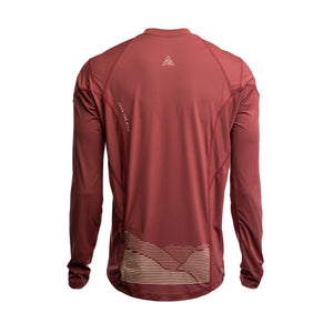 RM x 7mesh CC  Sight Jersey L/S Maroon Men's
