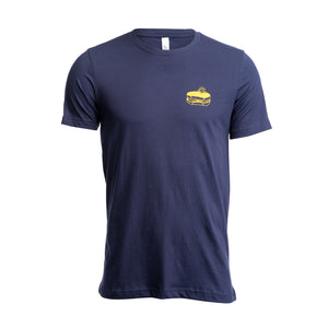 Lunchride T-shirt Navy