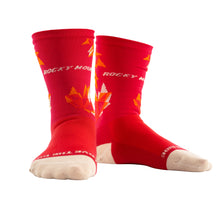 Maple Leaf Socks Red