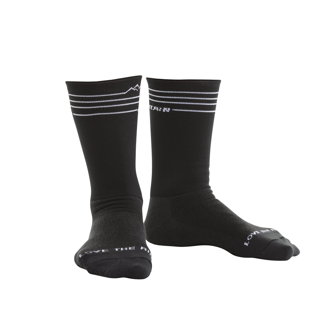 MTN Line Socks Black