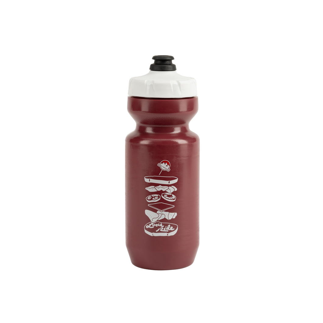 Lunch Ride Bottle Maroon