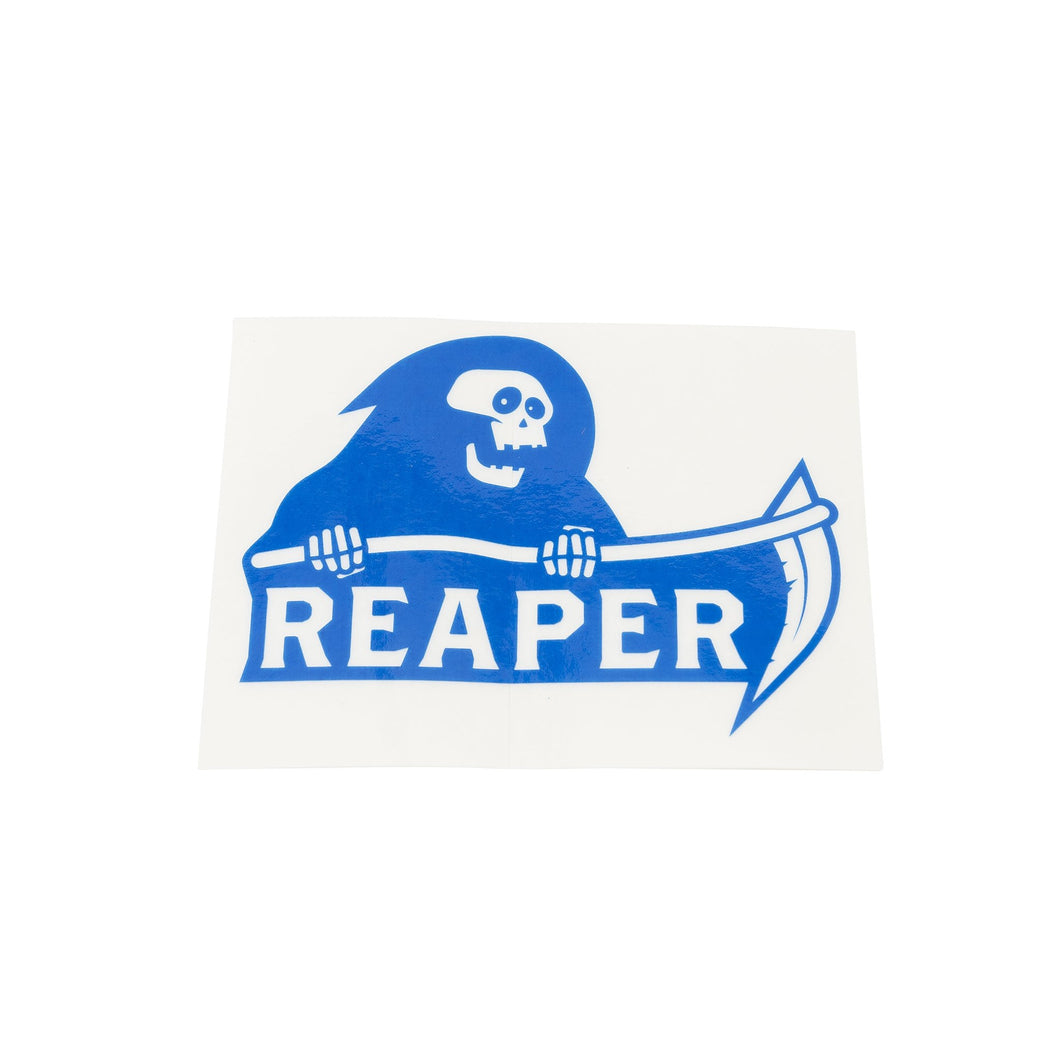 Reaper Sticker Blue